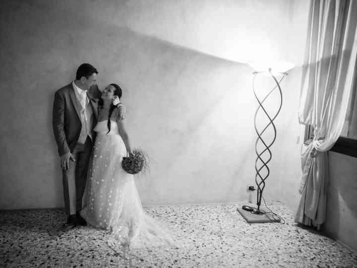 le nozze di Benedetta e Mauro