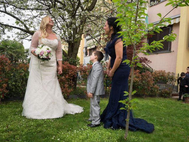 Il matrimonio di Pietro e Veronica a Binasco, Milano 1
