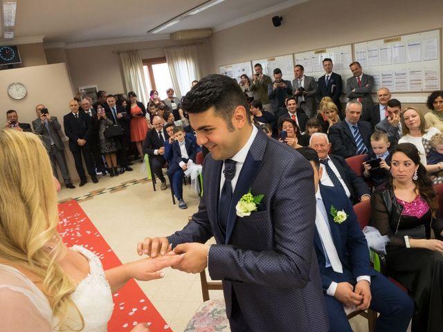 Il matrimonio di Pietro e Veronica a Binasco, Milano 2