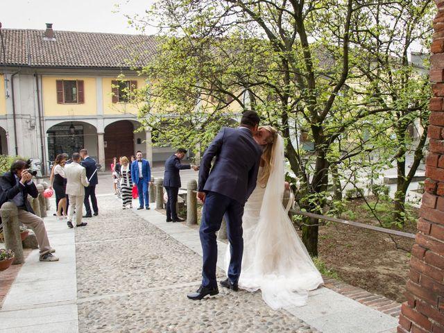 Il matrimonio di Pietro e Veronica a Binasco, Milano 6
