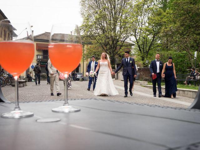 Il matrimonio di Pietro e Veronica a Binasco, Milano 7