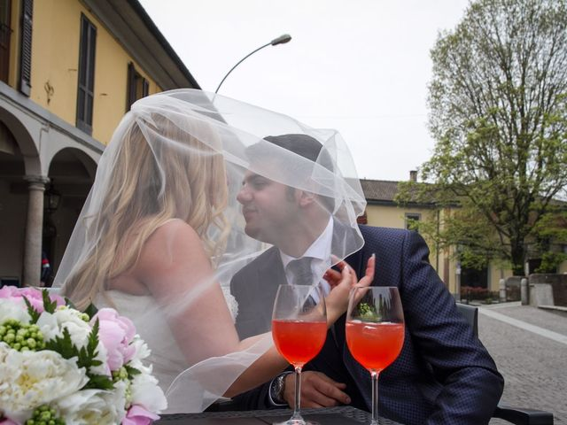 Il matrimonio di Pietro e Veronica a Binasco, Milano 8