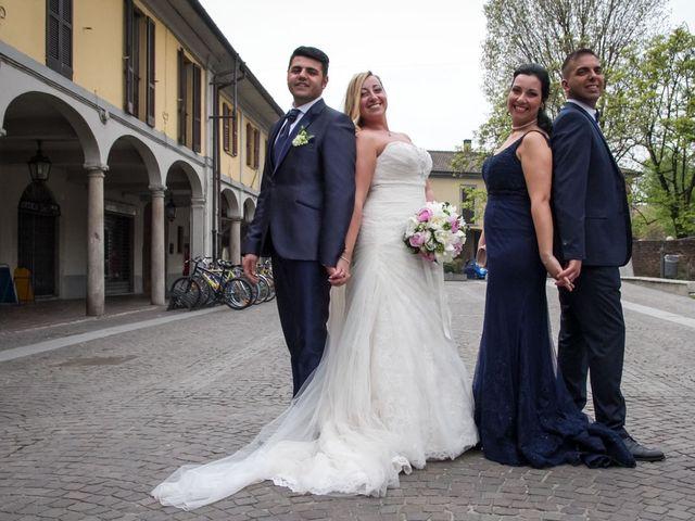 Il matrimonio di Pietro e Veronica a Binasco, Milano 9