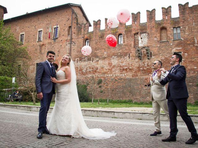 Il matrimonio di Pietro e Veronica a Binasco, Milano 10
