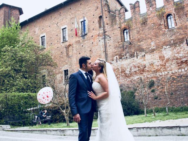 Il matrimonio di Pietro e Veronica a Binasco, Milano 11