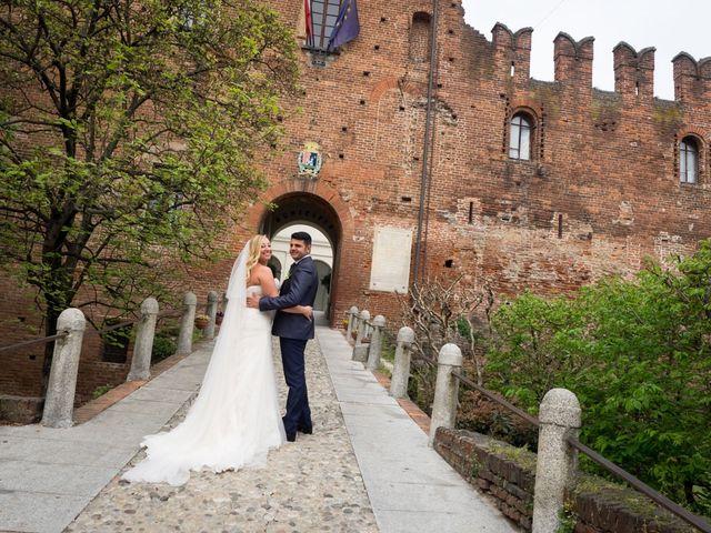 Il matrimonio di Pietro e Veronica a Binasco, Milano 24