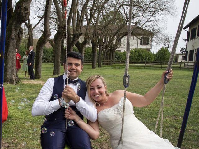 Il matrimonio di Pietro e Veronica a Binasco, Milano 27