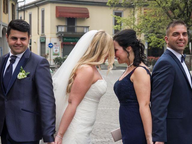 Il matrimonio di Pietro e Veronica a Binasco, Milano 30