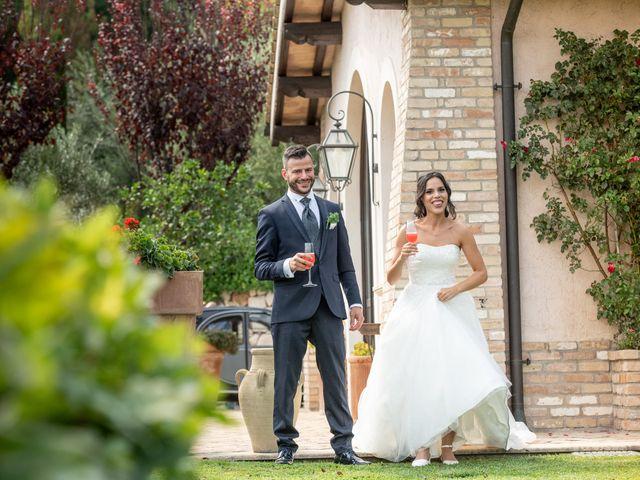 Il matrimonio di Francesca e Michele a Rignano Flaminio, Roma 2