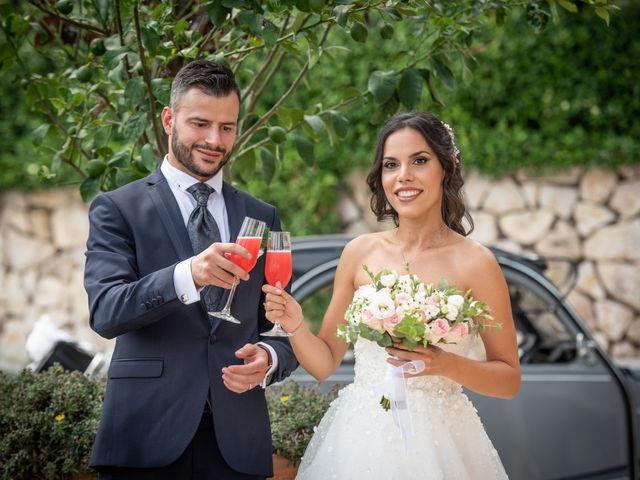 Il matrimonio di Francesca e Michele a Rignano Flaminio, Roma 23