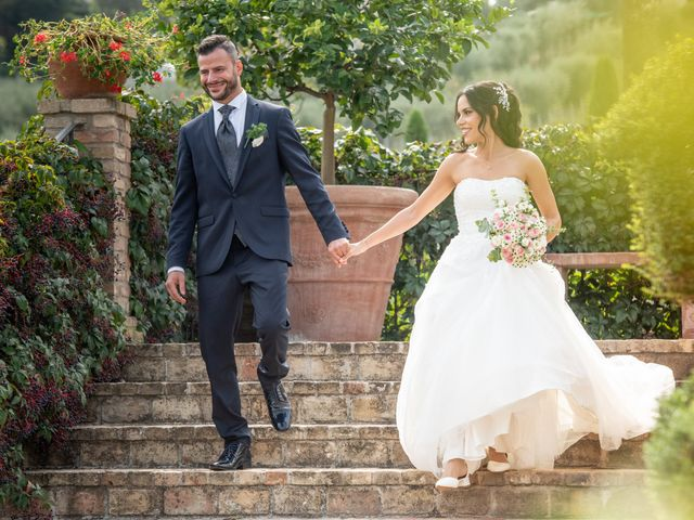 Il matrimonio di Francesca e Michele a Rignano Flaminio, Roma 24