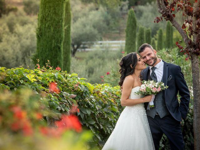 Il matrimonio di Francesca e Michele a Rignano Flaminio, Roma 27