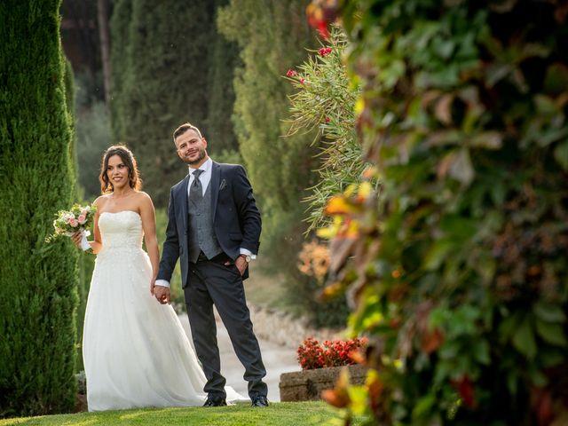 Il matrimonio di Francesca e Michele a Rignano Flaminio, Roma 34