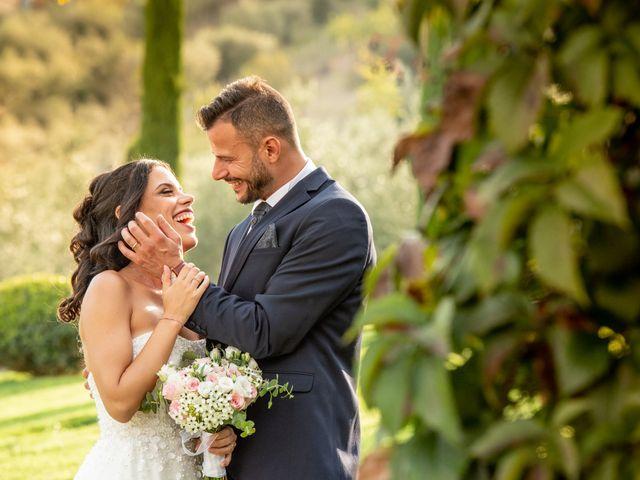 Il matrimonio di Francesca e Michele a Rignano Flaminio, Roma 39