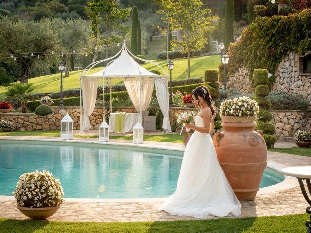 Il matrimonio di Francesca e Michele a Rignano Flaminio, Roma 41