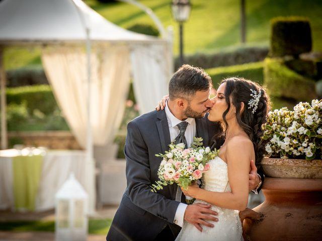 Il matrimonio di Francesca e Michele a Rignano Flaminio, Roma 43