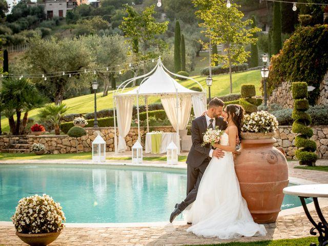 Il matrimonio di Francesca e Michele a Rignano Flaminio, Roma 44
