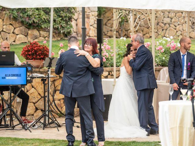 Il matrimonio di Francesca e Michele a Rignano Flaminio, Roma 48