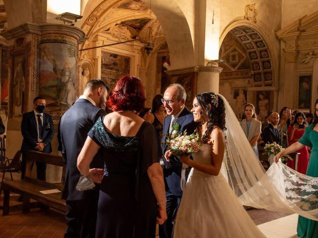 Il matrimonio di Francesca e Michele a Rignano Flaminio, Roma 58