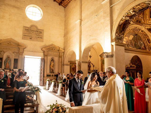 Il matrimonio di Francesca e Michele a Rignano Flaminio, Roma 60