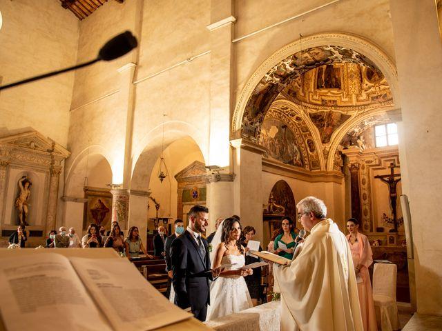Il matrimonio di Francesca e Michele a Rignano Flaminio, Roma 61