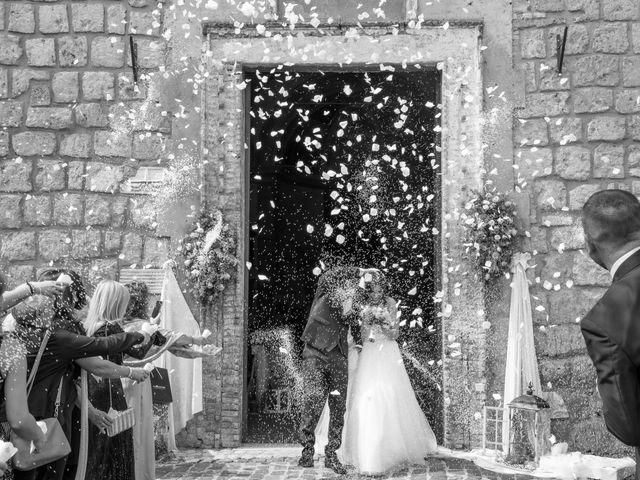 Il matrimonio di Francesca e Michele a Rignano Flaminio, Roma 63