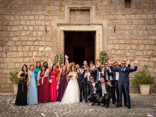 Il matrimonio di Francesca e Michele a Rignano Flaminio, Roma 65