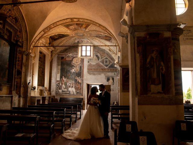 Il matrimonio di Francesca e Michele a Rignano Flaminio, Roma 66