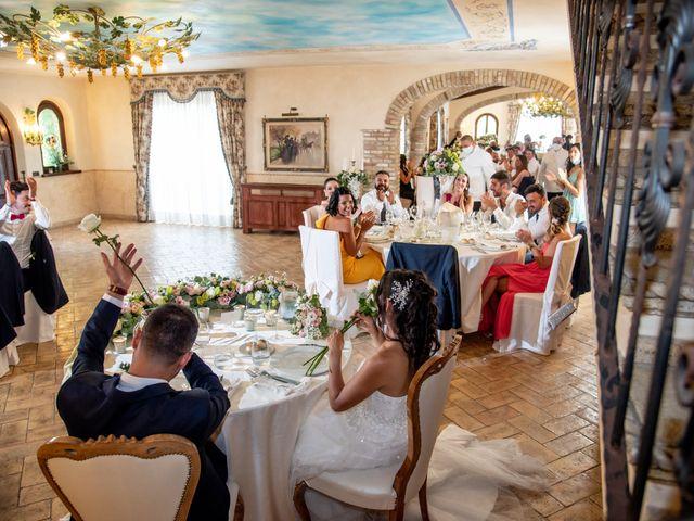 Il matrimonio di Francesca e Michele a Rignano Flaminio, Roma 72