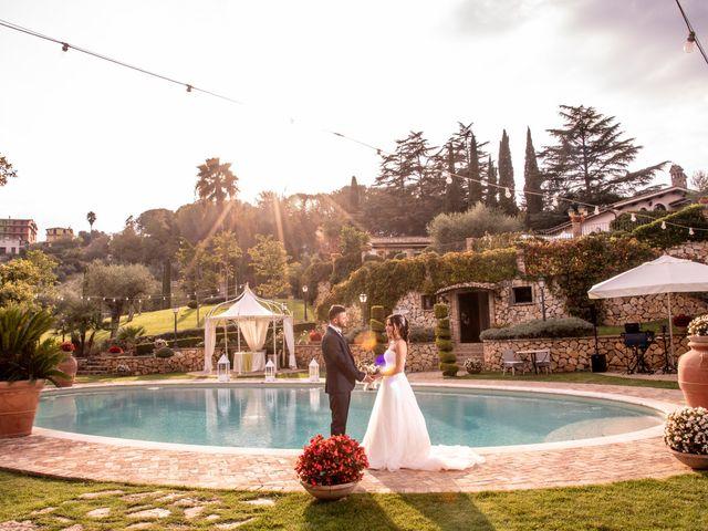 Il matrimonio di Francesca e Michele a Rignano Flaminio, Roma 73