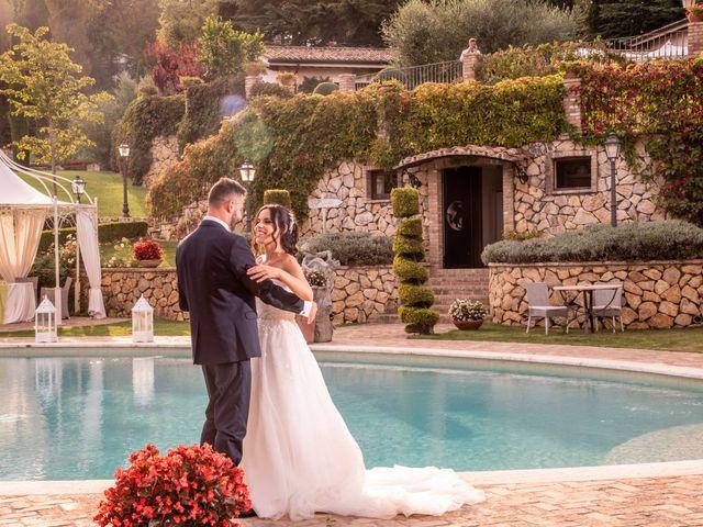 Il matrimonio di Francesca e Michele a Rignano Flaminio, Roma 74