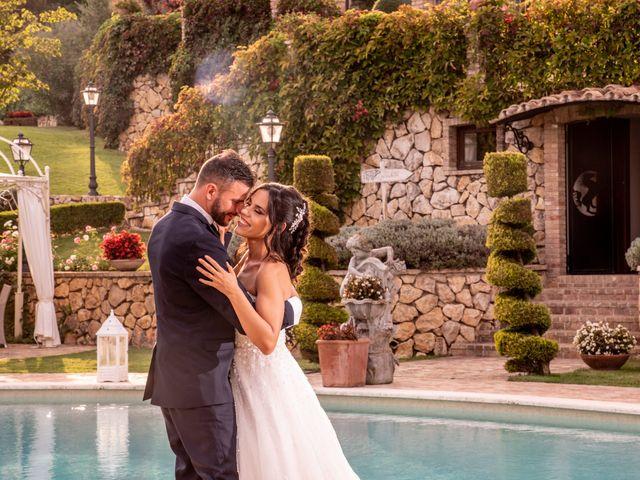 Il matrimonio di Francesca e Michele a Rignano Flaminio, Roma 75