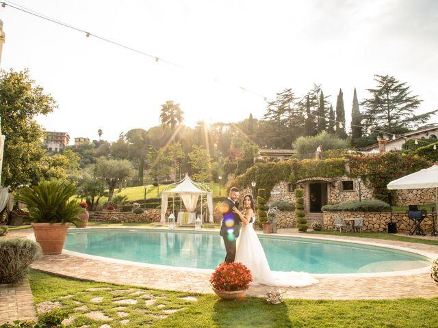 Il matrimonio di Francesca e Michele a Rignano Flaminio, Roma 76