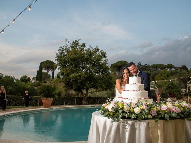 Il matrimonio di Francesca e Michele a Rignano Flaminio, Roma 80