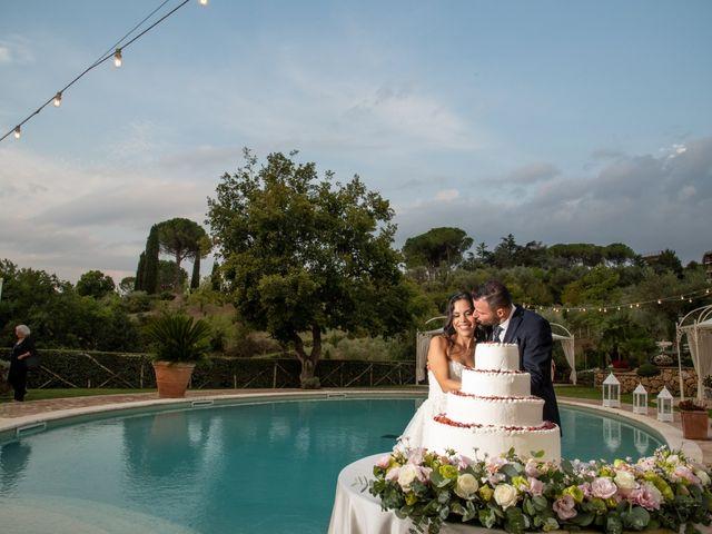 Il matrimonio di Francesca e Michele a Rignano Flaminio, Roma 81