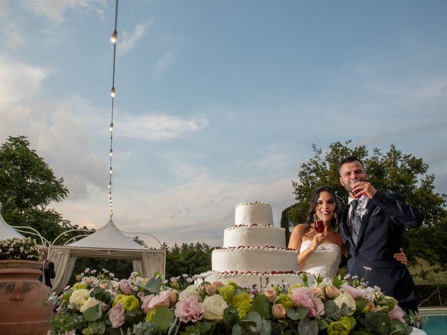 Il matrimonio di Francesca e Michele a Rignano Flaminio, Roma 83