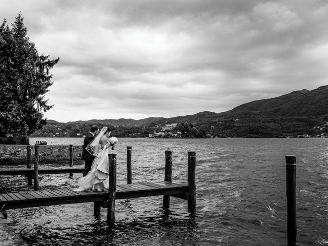 Il matrimonio di Alberto e Valentina a Ameno, Novara 37