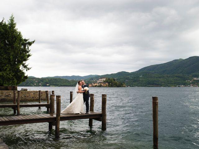 Il matrimonio di Alberto e Valentina a Ameno, Novara 38