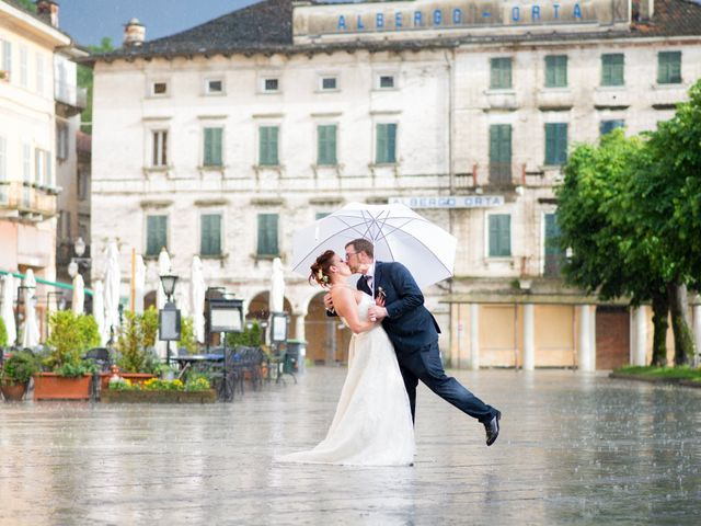 Il matrimonio di Alberto e Valentina a Ameno, Novara 41