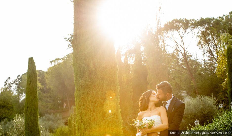 Il matrimonio di Francesca e Michele a Rignano Flaminio, Roma