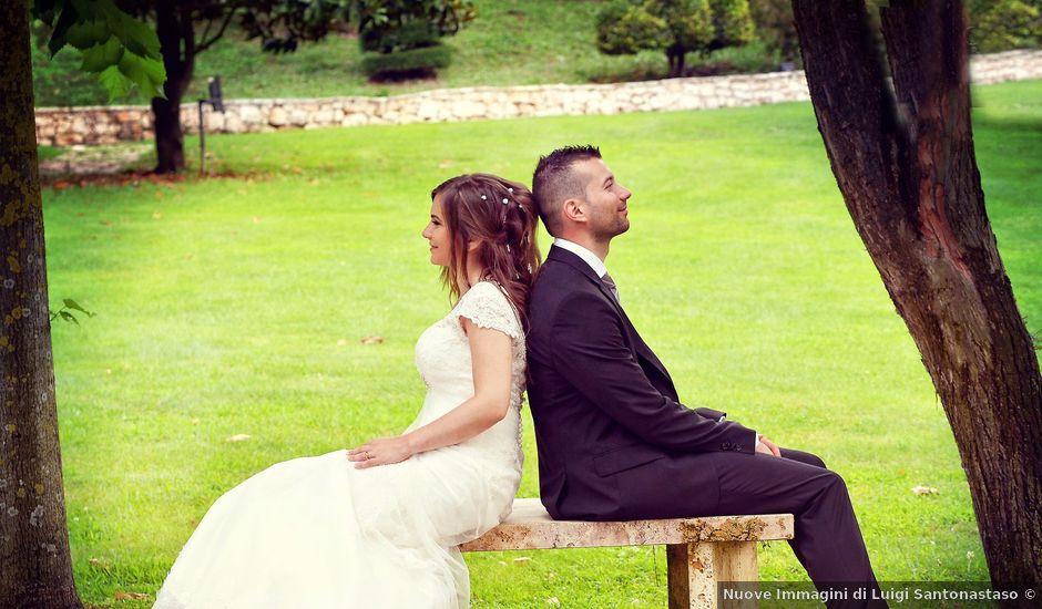 Il matrimonio di Antonio e Nunzia a Dragoni, Caserta