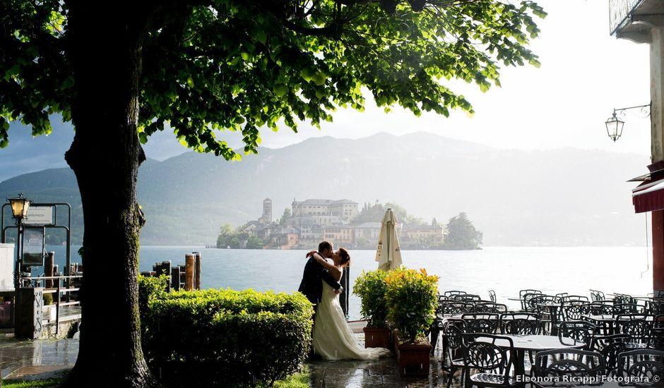 Il matrimonio di Alberto e Valentina a Ameno, Novara