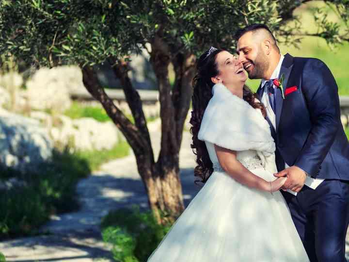 le nozze di Carmen e Alessio
