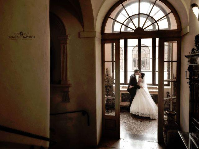 Il matrimonio di Davide e Valeria a Sanguinetto, Verona 1
