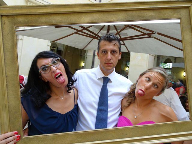 Il matrimonio di Davide e Valeria a Sanguinetto, Verona 30