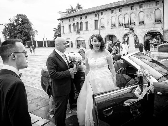 Il matrimonio di Massimo e Eleonora a Oderzo, Treviso 11