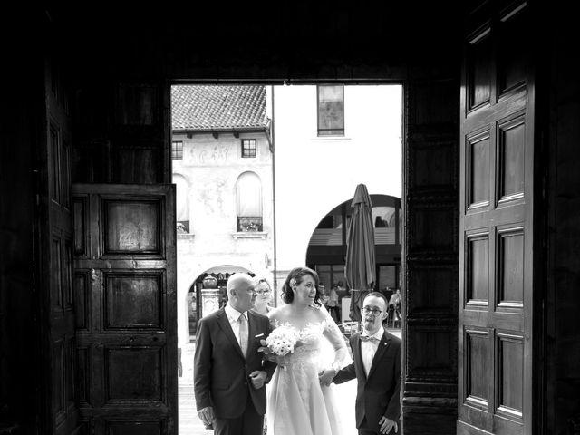 Il matrimonio di Massimo e Eleonora a Oderzo, Treviso 12