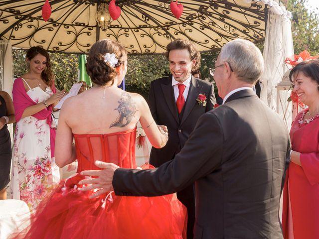 Il matrimonio di Antonino e Daniela a Vidigulfo, Pavia 20
