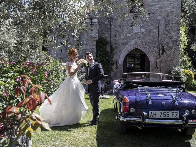 Il matrimonio di Alessio e Claudia a Castelnuovo di Farfa, Rieti 2