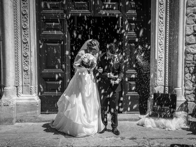 Il matrimonio di Alessio e Claudia a Castelnuovo di Farfa, Rieti 3